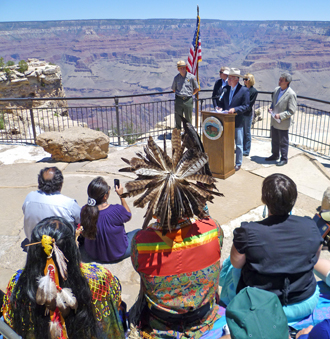Grand Canyon Secretary Salazar