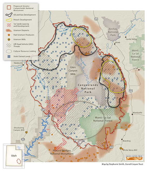 Greater Canyonlands - Threats to Greater Canyonlands