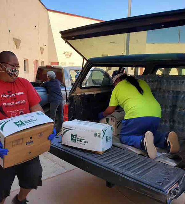 Mutual Aid - Navajo and Hopi