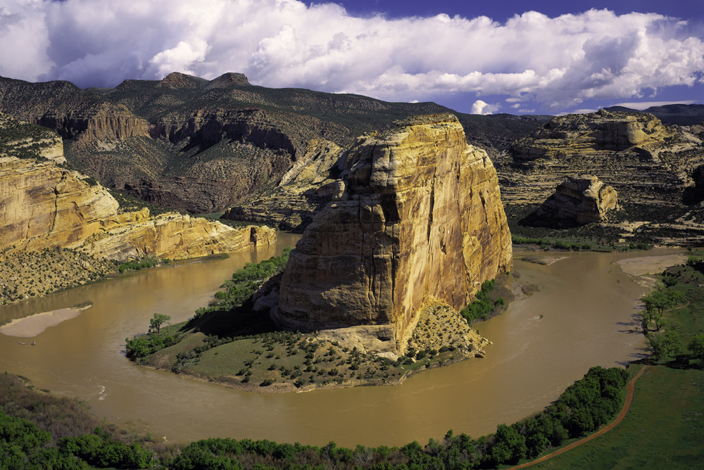 Echo Park, Dinosaur National Monument. Tom Till