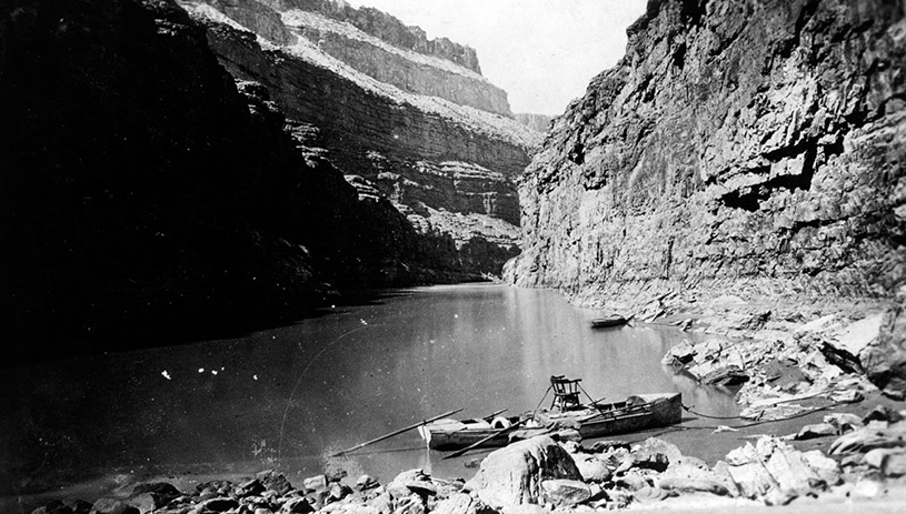 From John Wesley Powell's second expedition