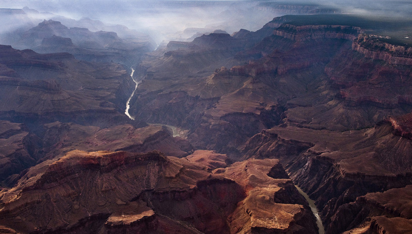 The Colorado River inside the Grand Canyon. Photo by Pete McBride