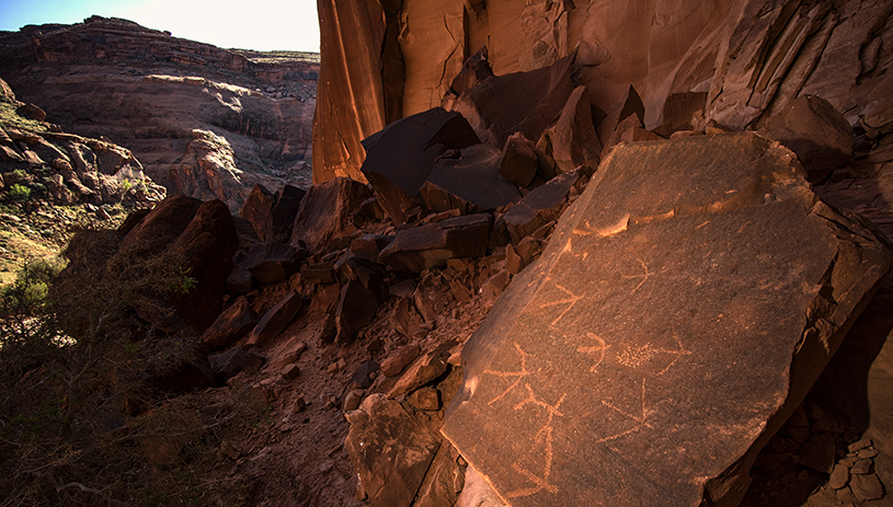Bears Ears rock art
