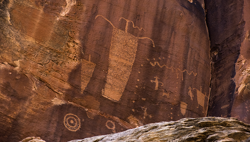 Rock art in Bears Ears