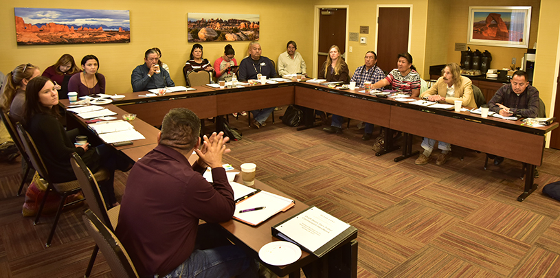 Bears Ears Commission of Tribes meets in Moab in October 2017