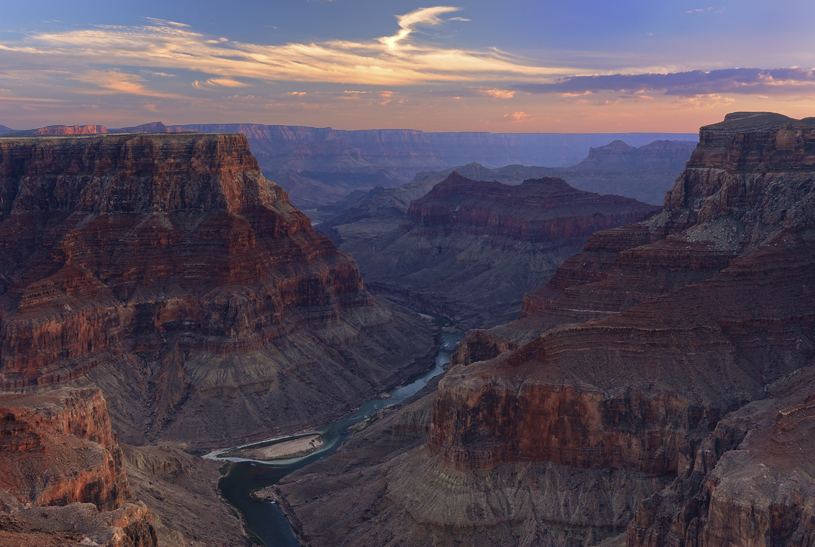 The Confluence at sunrise. Photo by Rick Goldwasser.