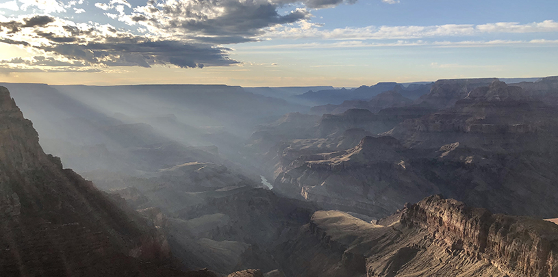 Grand Canyon sunlight