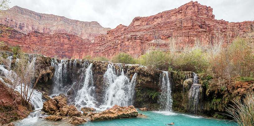Havasupai, photo by Ed Moss