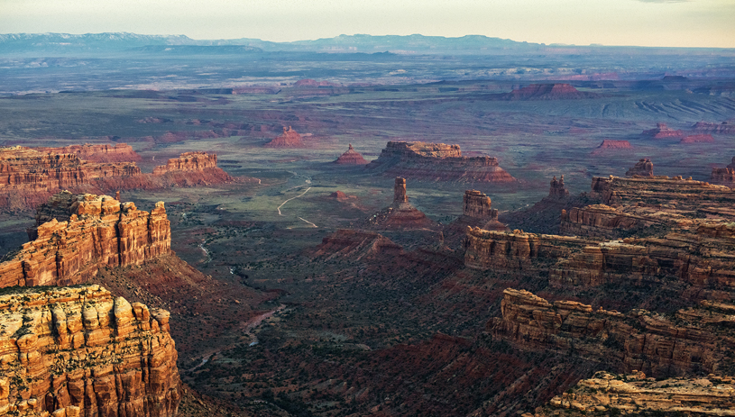 Valley of the Gods. Tim Peterson, flown by LightHawk