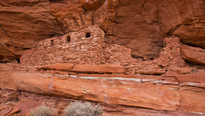 Western Cedar Mesa Canyons Cliff Dwelling, Bears Ears, photo by Jonathan Bailey.