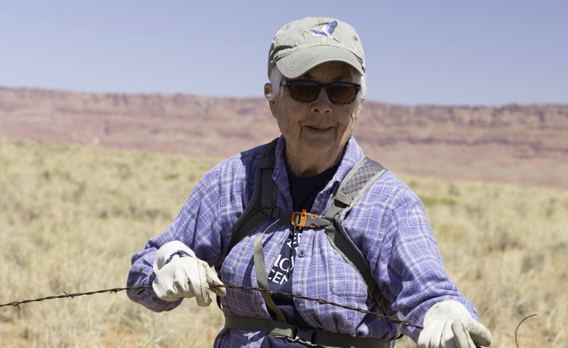 Marilaine Jones, Volunteer, Grand Canyon Trust