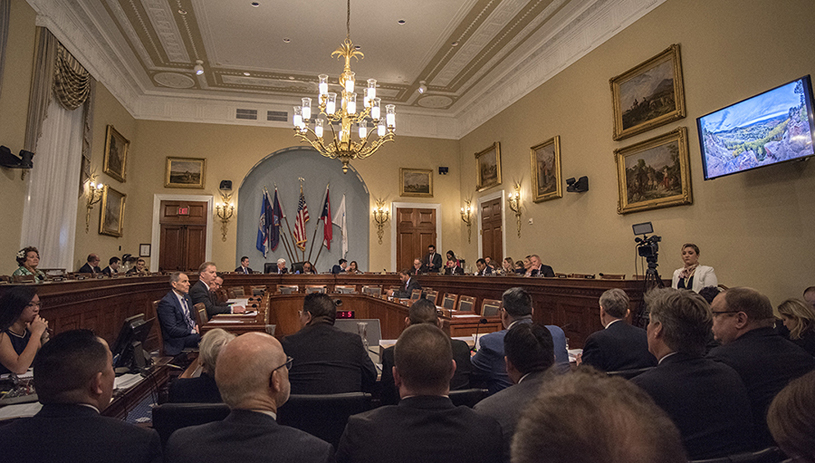 National Monuments oversight hearing, March 13, 2019, House Committee on Natural Resources. TIM PETERSON