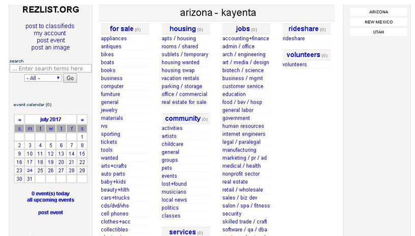 Rezlist: A New Way to Buy, Sell, Trade on the Navajo Nation