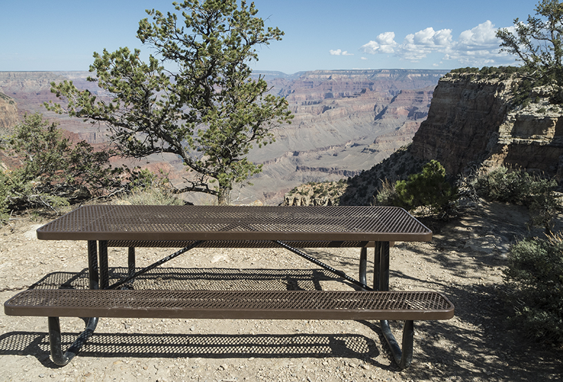 Picnic at Grand Canyon