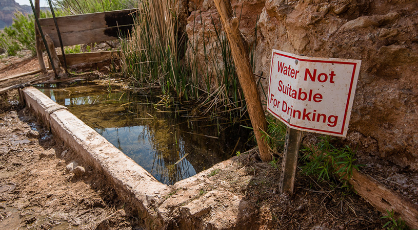 uranium contamination, photo by Blake McCord