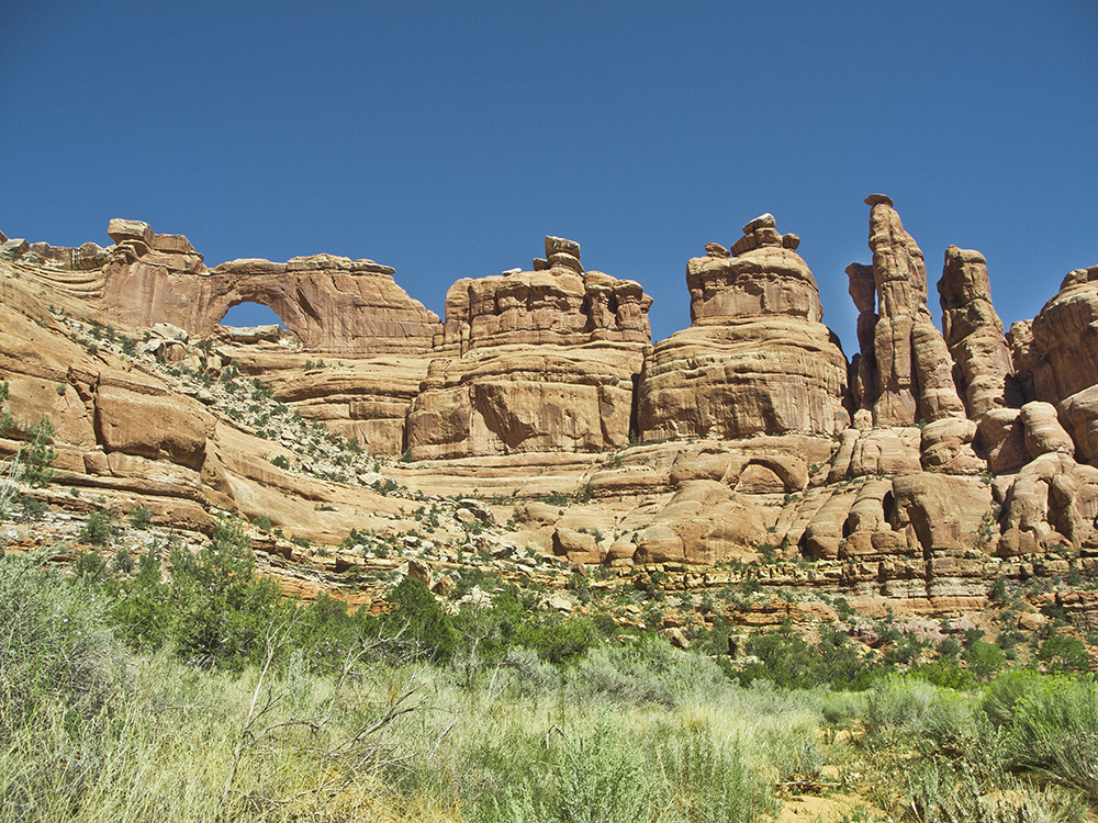Fish and owl Canyons