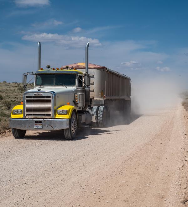 White Mesa Mill - Trucks