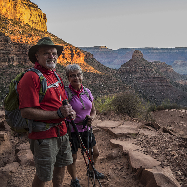 Grand Canyon hikers