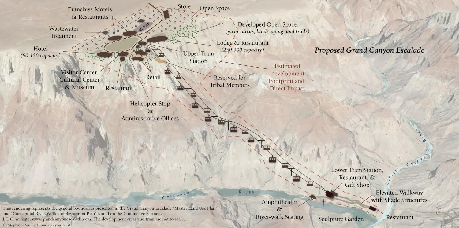 A Beautiful Map for an Ugly Proposal Grand Canyon Trust