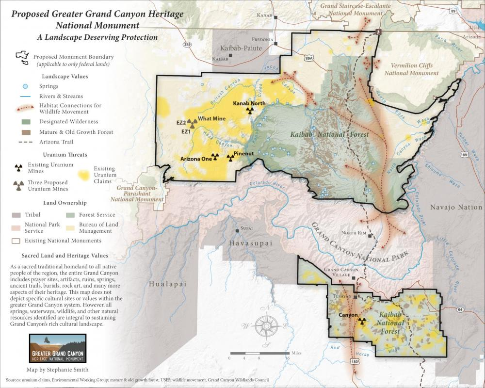 Maps Grand Canyon Trust