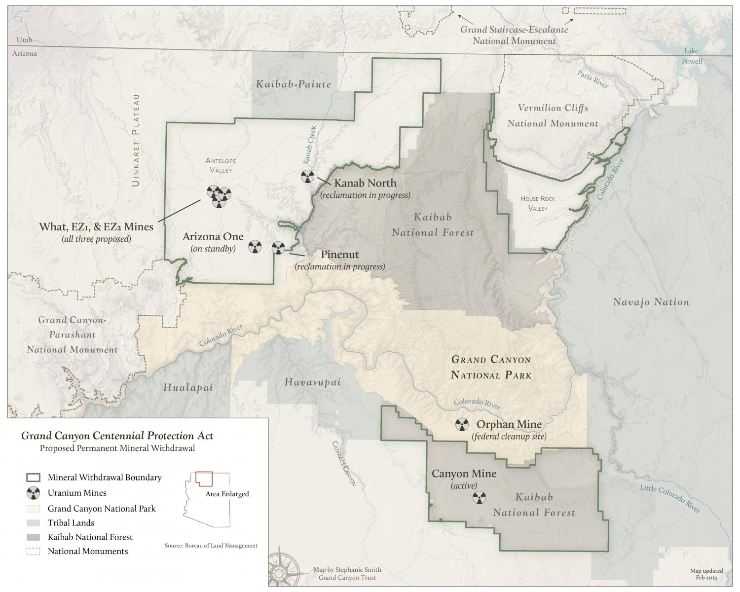Grand Canyon Uranium Mines