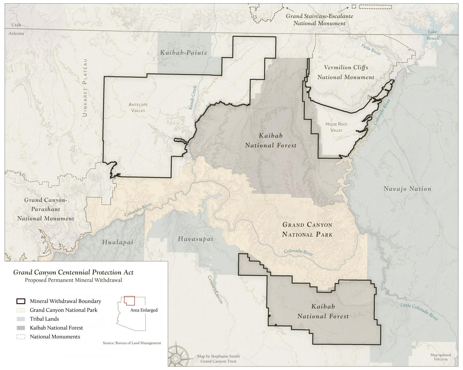 Grand Canyon Mineral Withdrawal Area