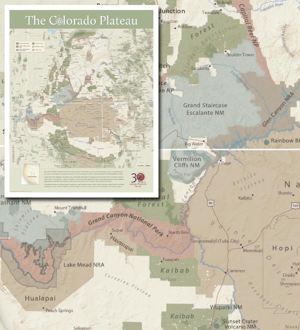 Become a member - Colorado Plateau Map 2015