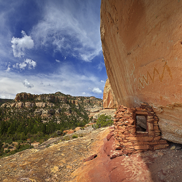 Arc site in Bears Ears