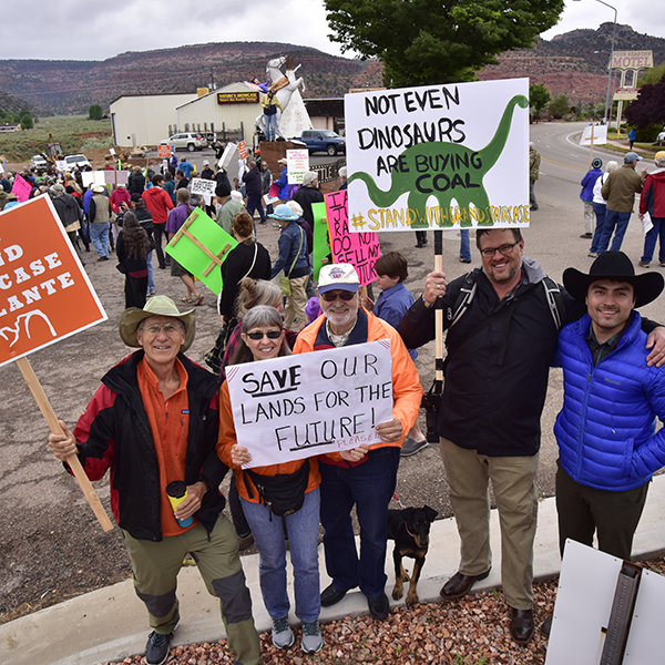 Monument rally in Kanab